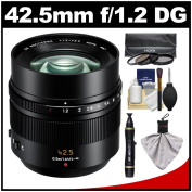 Panasonic Lumix G Leica 42.5mm f/1.2 DG Nocticron ASPH. Lens with 3 UV/CP/ND8 filter s Kit for G5, G6, GF5, GF6, GH3, GH4, GM1, GX7 Cameras