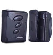 Apollo T2000 Black 1way Numeric Pager with 12 Months of Directpage Paging Service Included