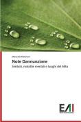 Note Dannunziane [ITA]