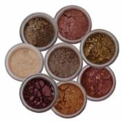 ITAY Mineral Eye Shimmer 8-Stacks 'Nature Beauty' + ITAY Eye Shimmer Brush