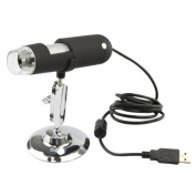 AGPtek® 2MP Mega Pixels USB 8 LED Digital Electronic Microscope Endoscope Magnifier 20x to 400x For Windows 7/Vista/XP/2000/Mac OS X 10.5 Or Above