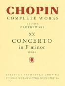 Piano Concerto in F Minor Op. 21