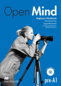 Open Mind Beginner Workbook with Key & CD Pack