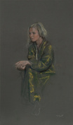 untitled 7 (Blonde in Yellow Robe),