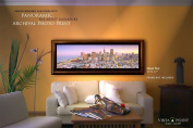 San Francisco Financial District Artist Signature Archival Fine Art Print 140cm By 43cm