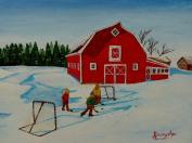 Barnyard Hockey,