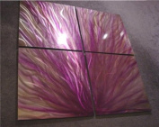 Aurora - 120cm x 120cm Abstract Painting Metal Wall Art sculpture for contemporary decor Sculpture by Nider the Internationally Acclaimed Artist of Modern Contemporary Decor