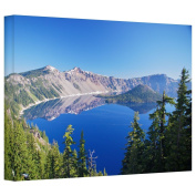 Art Wall 'Crater Lake' Gallery Wrapped Canvas Art By Dan Wilson