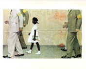 Norman Rockwell The Problem We All Live With 1964 Art Print - 18cm x 25cm - Unmatted, Unframed