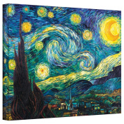 """""""Starry Night"""" By Vincent Van Gogh Gallery Wrapped Canvas"""
