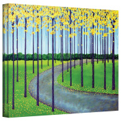 Art Wall 'In The Park' Gallery Wrapped Canvas Artwork by Herb Dickinson