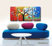 Modern Oil Painting on Canvas Stretched - Passion