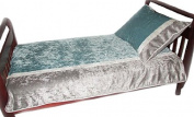 Baby Doll Crocodile Toddler Bedding, Blue