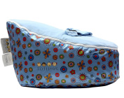 Snugglish Blossoms Blue with Blue Top - Must-have Baby Seats