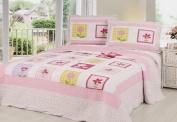 Home Sensation Stitched Quilt Sets
