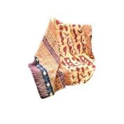 Abigails Bali Batik Hand stitched Brick 150cm by 230cm Quilt