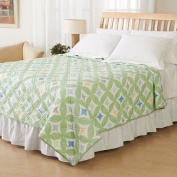 Ashley Cooper Virginia Diamonds Print Quilt in Queen Size