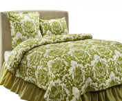 Be-you-tiful Home Damask Quilt Set