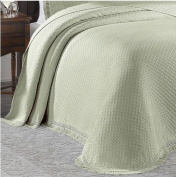 Woven Jacquard Bedspread Size