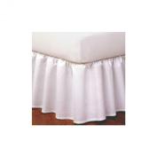Ruffled Bedskirt, Ivory
