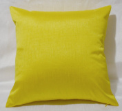 Creative Faux Silk Solid Euro Shams / Throw Pillow Covers 24 by 24