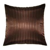 Creative Jacquard Stripes Euro Sham / Pillow Cover 26 by 26
