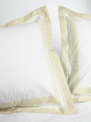 Marriott Hotel Block Print Euro Pillow Sham