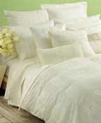 DKNY Pure Eyelet White Standard/Queen Pillow Sham
