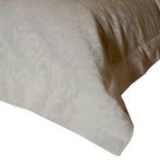Down Etc. Swirl Jacquard 70cm by 70cm Pillow Sham, Euro