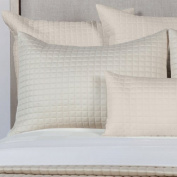 Home Source 100% Rayon Derived from Bamboo Bedding Standard Pillow Shams Pair, Hemp