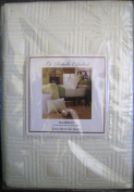 La Rochelle Collection Bamboo Fibre Standard Quilted Pillow Sham White