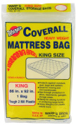 Warp Brothers CB-86 Mattress Storage Bag, King, Clear Plastic, 220cm x 230cm .