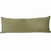 Sage Microsuede Body Pillow Cover With Double Sided Zippers 50cm x 140cm
