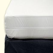 Zippered Fabric Mattress Cover