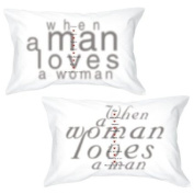 "BoldLoft ""Together in Love"" Couple Pillowcases-Wedding Gifts,Wedding Gifts for the Couple,Wedding Gifts for Bride and Groom,Wedding Gift Ideas,Anniversary Gifts"