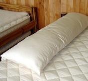 Organic Sateen Cotton Envelope Body Pillow Case