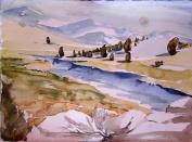 Kennedy Meadows Half In Winter,