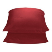 2 Target Home 325 Thread Count Wrinkle Free Pillowcase - Red Colour - King Size