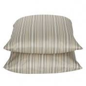 2 Target Home Tan Stripe 325 Thread Count Wrinkle Free Pillowcase - King Size