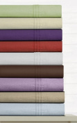 Luxury Solid Cotton Deep Pocket Flannel Sheet Set Size