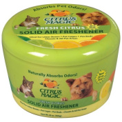 Citrus Magic Solid Air Freshener for Pets Fresh Citrus -- 590ml