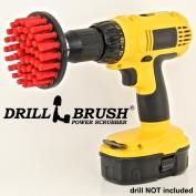 Heavy Duty Stiff Nylon Scrub Brush for Brick Concrete and Stone Cleaning