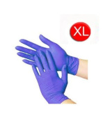 1000/CASE DISPOSABLE POWDER-FREE BLUE NITRILE MEDICAL EXAM GLOVES (LATEX FREE) SIZE-X-LARGE 3.5 Mil