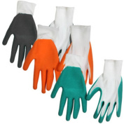 Latex Palm Textured-grip Knit Gloves