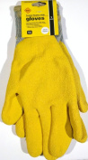 Coated Rubber Grip Gloves, 1 Pair, Natural Latex, Extra Large