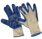 SAS Safety 641-1010 Latex Palm Coated Gloves