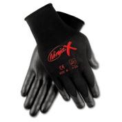 Ninja x Bi-Polymer Coated Gloves, Extra Large, Black, Pair
