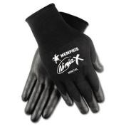 Ninja x Bi-Polymer Coated Gloves, Medium, Black, Pair