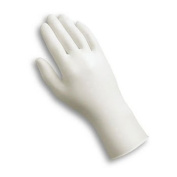 AnsellPro Dura-Touch PVC Powdered Gloves, Clear, Small, 100/Box - 100 gloves per box.