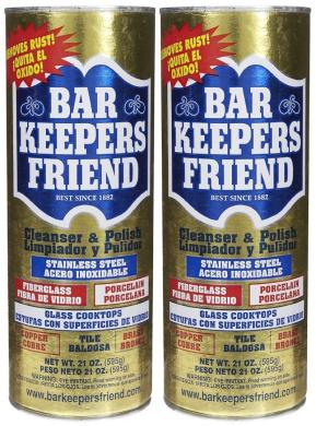 Barkeeper's Friend Powder Cleanser, 620ml-2 pack - 2 pk.